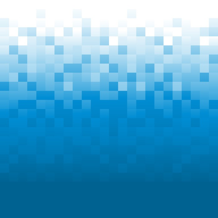 Vinilo pixerstick fondo pixel azul pixers vivimos para cambiar - Fotomurales pixel ...