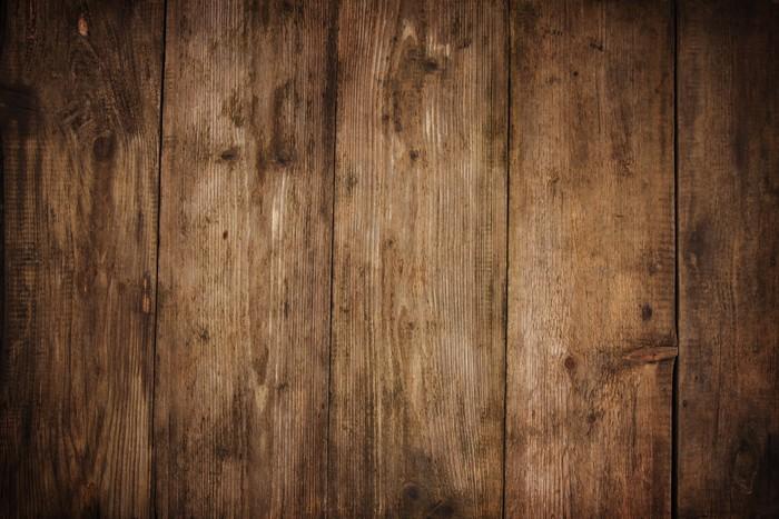 Fotobehang houtstructuur plank graan achtergrond houten bureau