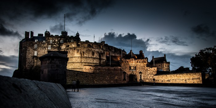 Edinburgh castle wall mural pixers we live to change for Edinburgh wall mural