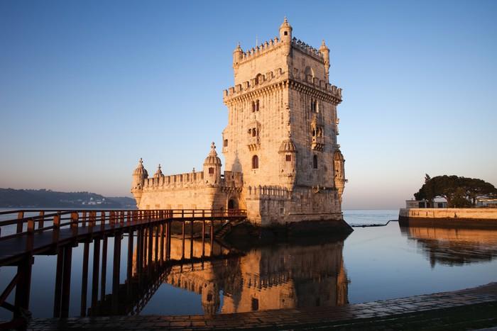 Vinylová Tapeta Ráno v Belem Tower v Lisabonu - Témata