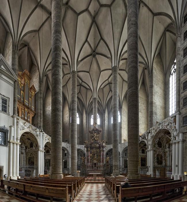 Papier Peint Vinyle Fraziskanerkirche à Salzbourg - Thèmes