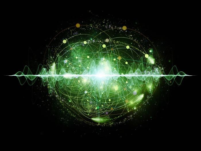 Vinylová Tapeta Energie z atomu - Přírodní krásy