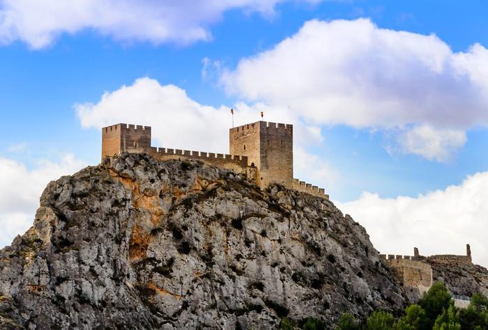 Vinylová Tapeta Sax hradu Alicante Province Španělsko - Témata
