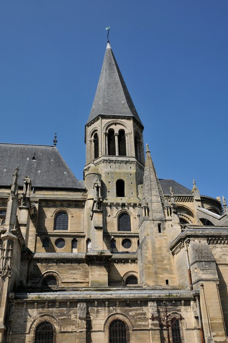 Vinylová Tapeta Francie, kolegiátní kostel Poissy Les Yvelines - Prázdniny