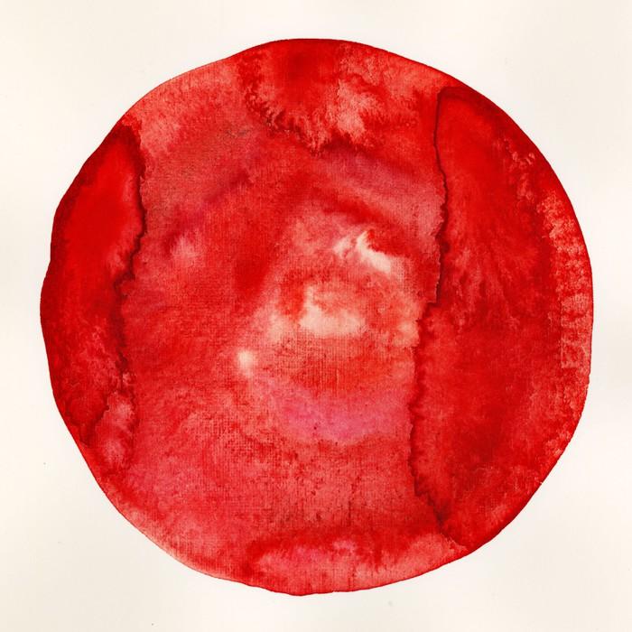 Vinylová Tapeta Kruh - Abstraktní