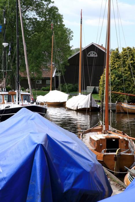 Vinylová Tapeta Marine Heeg - Friesland, Nizozemí - Evropa