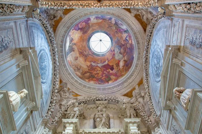Papier Peint Vinyle Chapelle latérale dans l'église San Francesco della Vigna. - Villes européennes