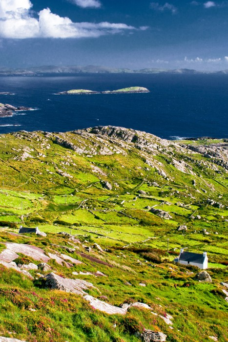 Vinylová Tapeta Paysage de bord de mer en Irlande - Voda