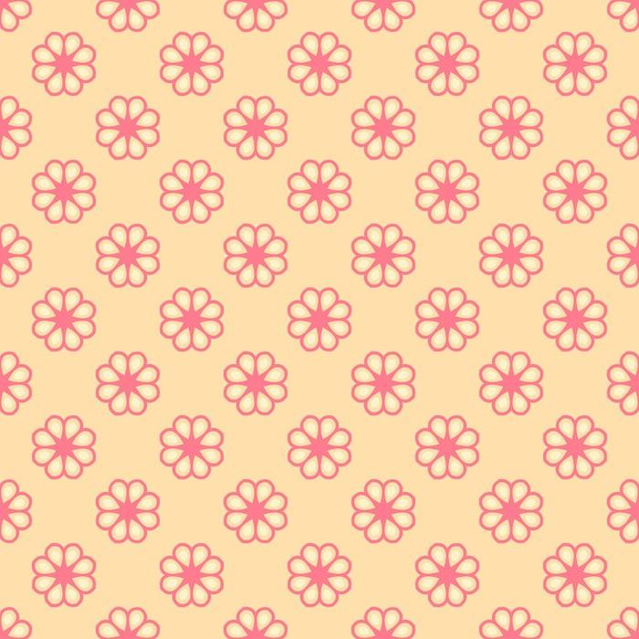 Feminine vector seamless pattern (tiling) Wall Mural • Pixers® • We ...