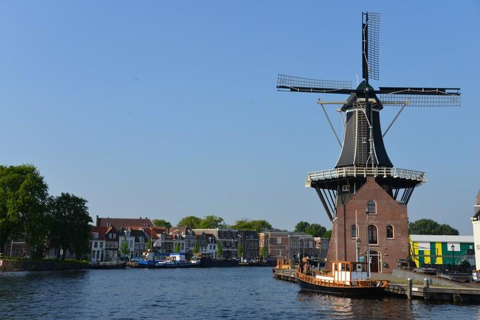 Vinylová Tapeta Typická holandská krajina - Evropa