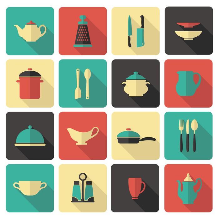 tableau sur toile ic nes de cuisine pixers nous vivons pour changer. Black Bedroom Furniture Sets. Home Design Ideas