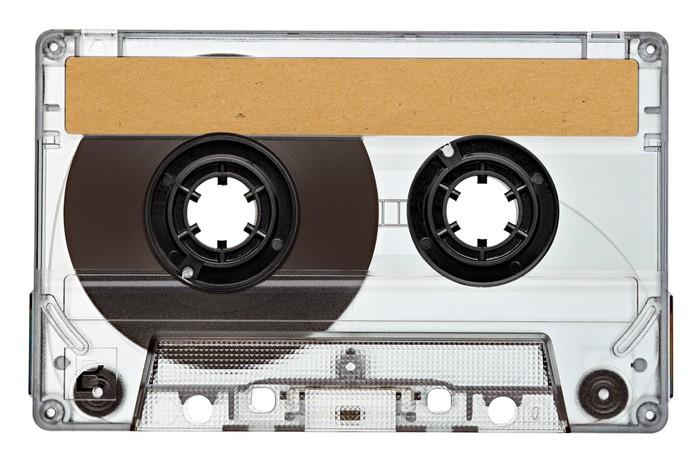 Vinylová Tapeta Hudba magnetofonová páska vintage - Hudba