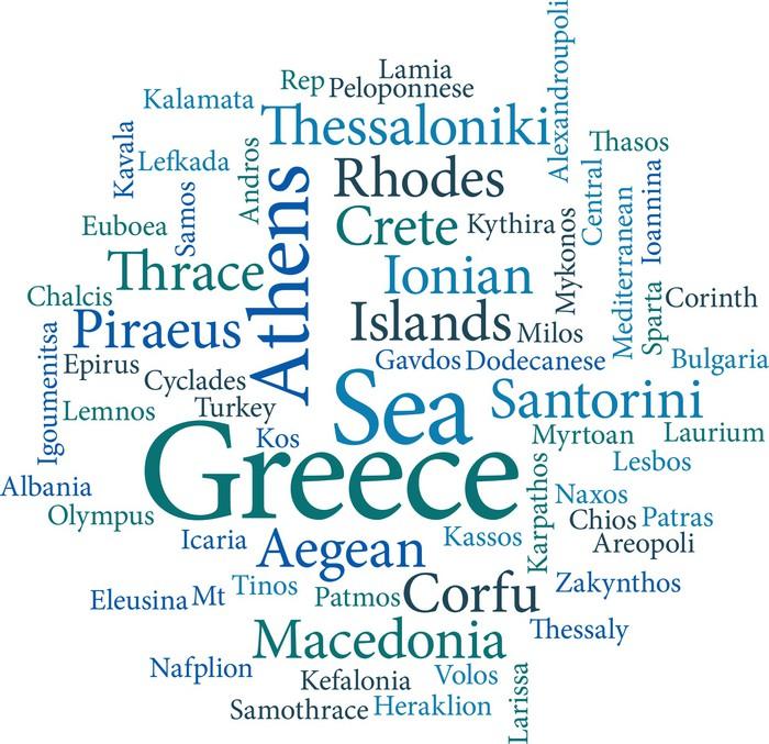Carta da parati citt della grecia pixers viviamo per il carta da parati citt della grecia in vinile altavistaventures Image collections