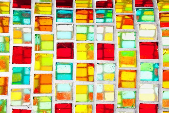 Fotomural vidriera de colores pixers vivimos para cambiar - Vidrieras de colores ...