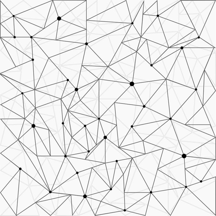 Vinylová fototapeta Abstraktní molekula struktura pozadí - Vinylová fototapeta