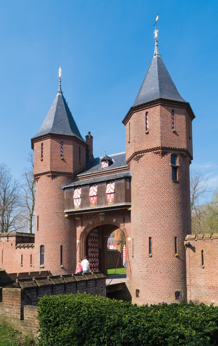 Vinylová Tapeta Holandské zámku - Památky