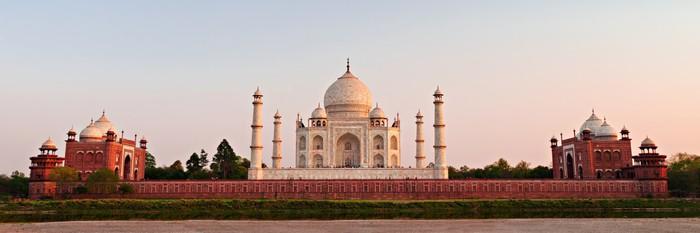 Vinylová fototapeta Taj Mahal, Agra - Vinylová fototapeta