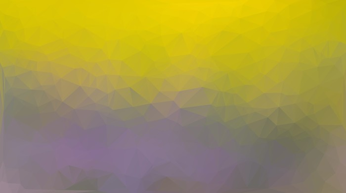 Yellow and purple abstract polygon triangle background Vinyl Wallpaper - Backgrounds
