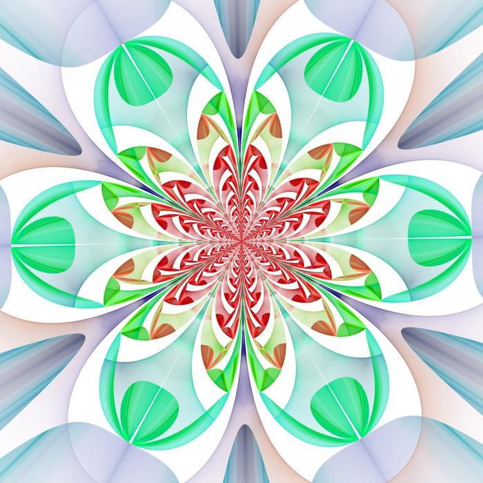 Papier peint motif sym trique fabuleux des feuilles for Papier peint pour ordinateur