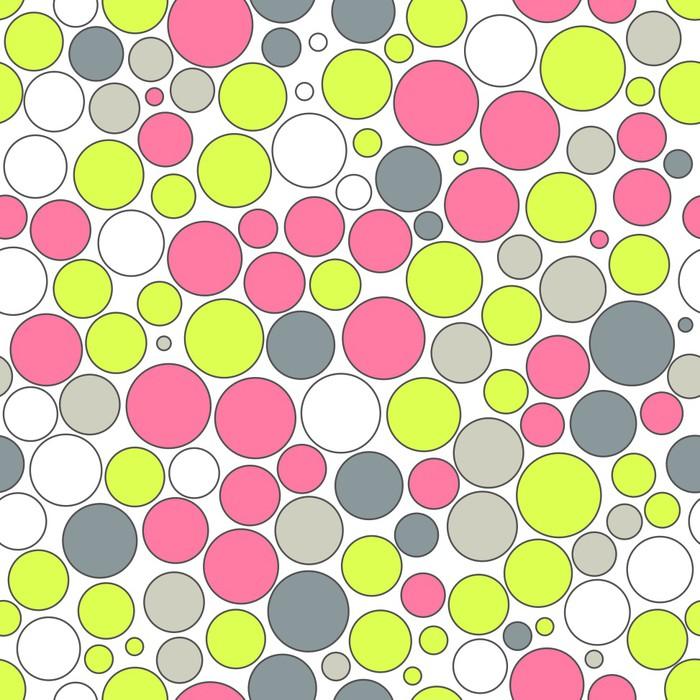 Fotomural Fondo transparente con puntos de colores • Pixers ...