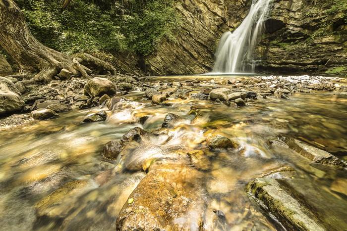 Vinylová Tapeta St Fele Falls - Voda