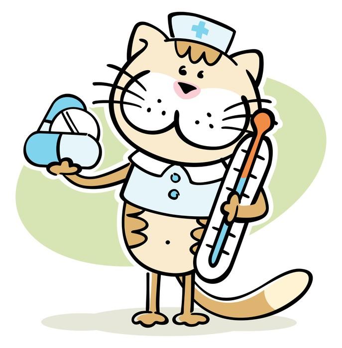 vinilo pixerstick dibujos animados del gato veterinario animal clip art coloring pages animal clip art coloring pages