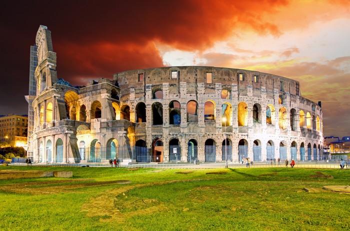 Carta da parati roma colosseo pixers viviamo per il for Carta da parati roma