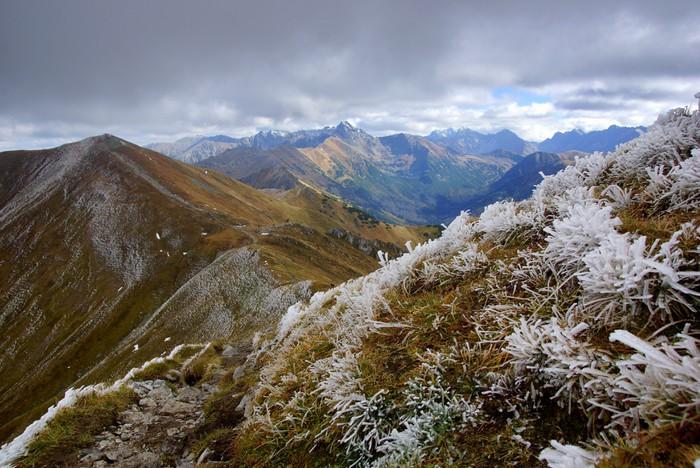 Vinylová Tapeta Red Mountain Peaks, Tatry hory v Polsku - Tatry