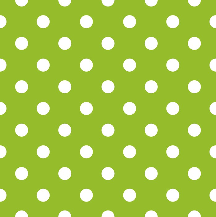 Vinilo para Puerta Modelo verde sin fisuras con los puntos blancos ...