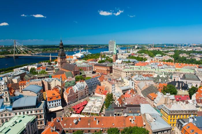Vinylová Tapeta Riga - Evropa