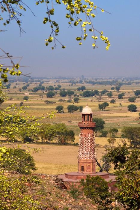 Vinylová Tapeta Elephant Tower v Agra Red Fort - Asie