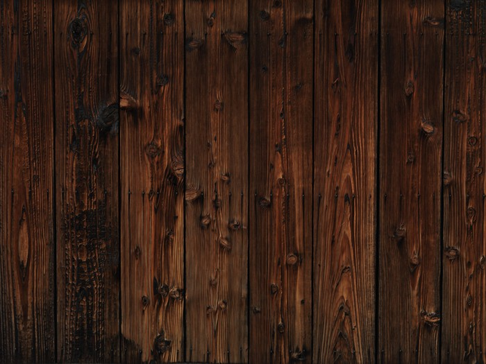 Sticker pour table et bureau vieux bois sombre texture de fond