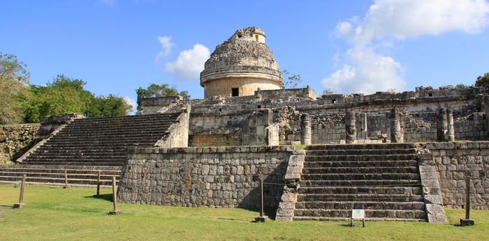 Vinylová Tapeta Observatoire de astronomique Chichen Itza (Yucatan, Mexique) - Amerika
