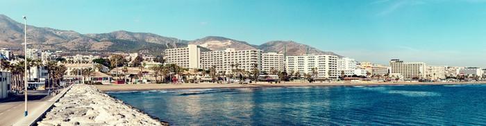 Vinylová Tapeta Benalmadena pobřeží. Malaga, Španělsko - Evropa
