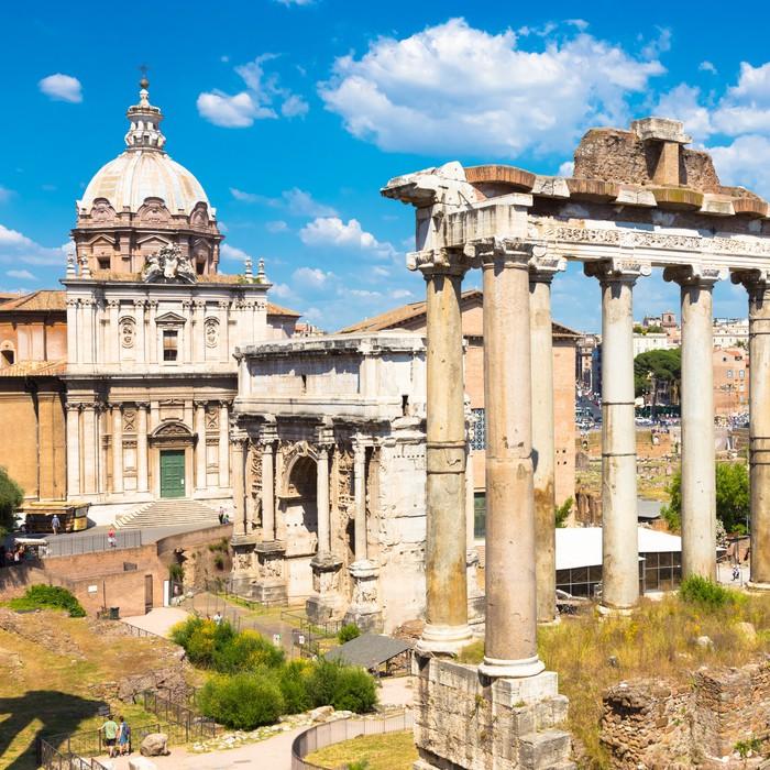 Carta da parati foro romano roma italia pixers for Carta da parati roma