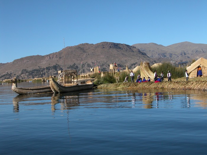 Vinylová Tapeta Lago di Titicaca - Perù - Témata
