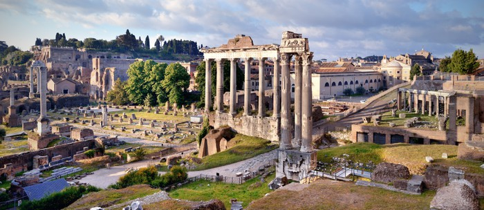 Roman Forum Rome Wall Mural Pixers We live to change
