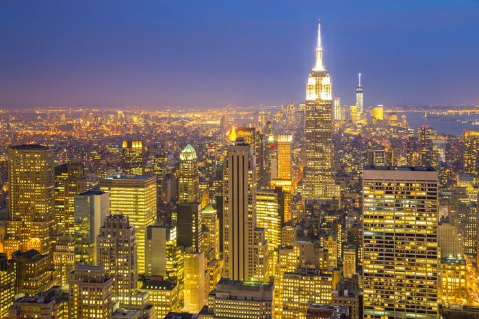 fototapete new york city skyline pixers wir leben um zu ver ndern. Black Bedroom Furniture Sets. Home Design Ideas
