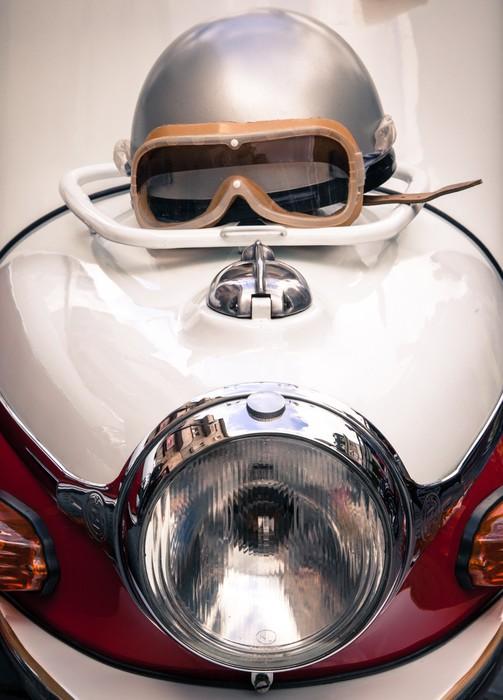 Vinylová Tapeta Detail veteránského motorce - Témata