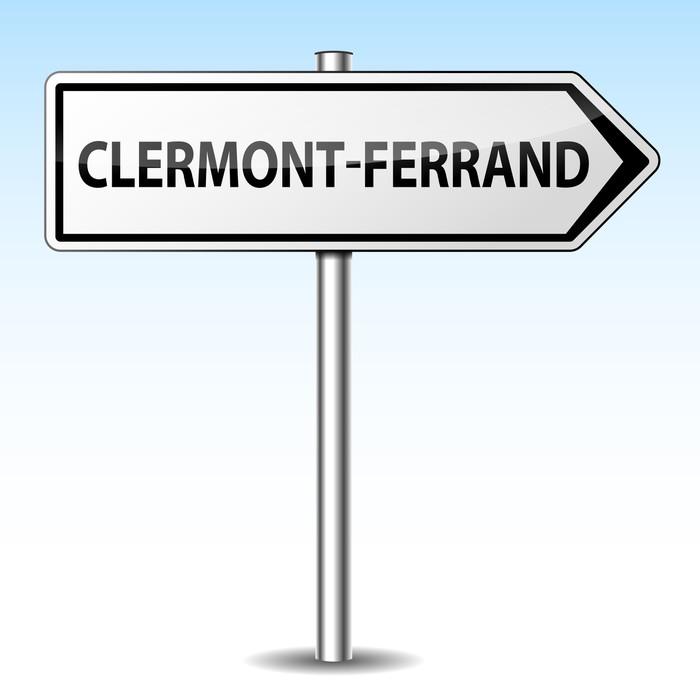 papier peint panneau direction clermont ferrand pixers nous vivons pour changer. Black Bedroom Furniture Sets. Home Design Ideas