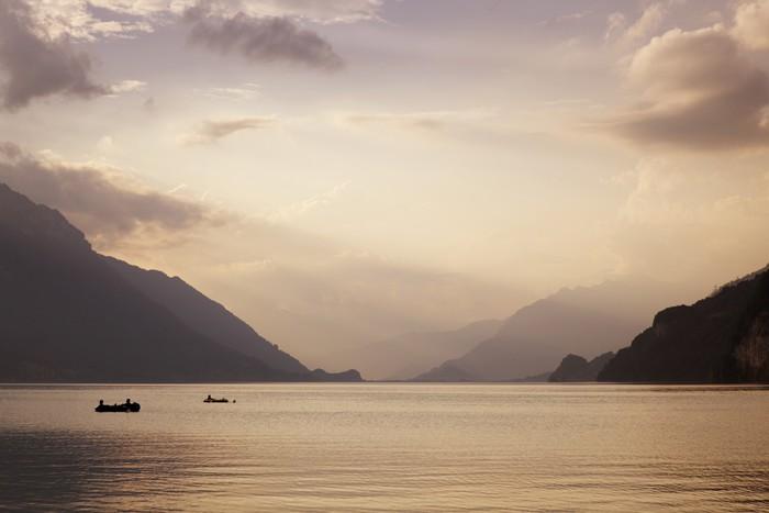 Vinylová Tapeta Swiss jezero - Voda