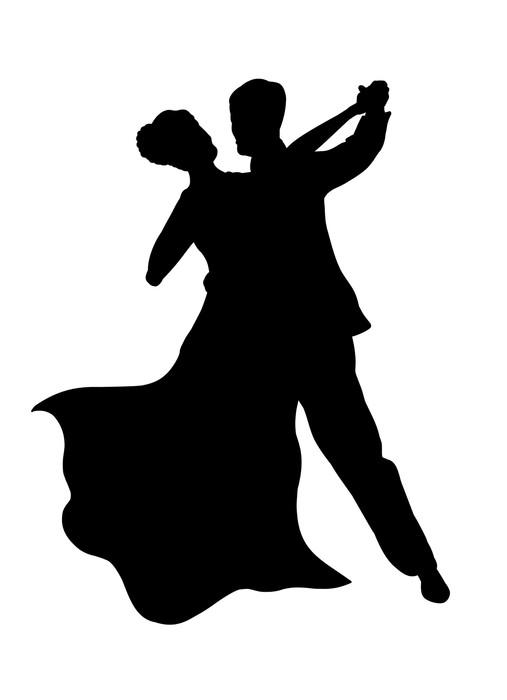 Vinylová Tapeta Tančící pár - Páry
