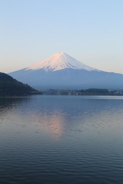 Vinylová Tapeta Mount Fuji, pohled od jezera Kawaguchiko - Témata