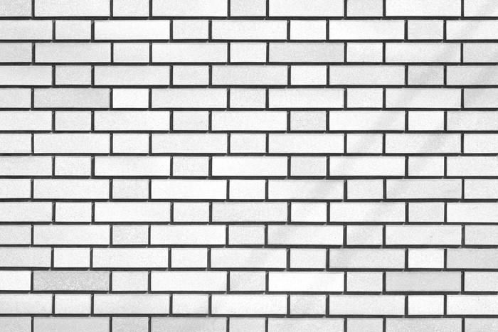 Fotomural baldosa de pared de ladrillo blanco y textura for Textura baldosa