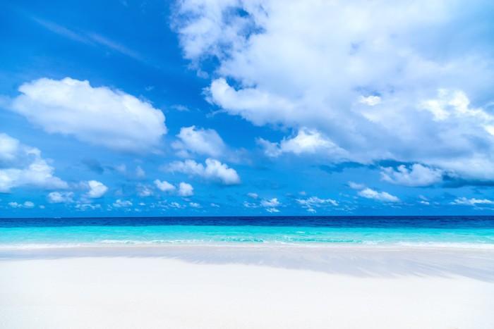 Vinylová Tapeta Krásné pláže a tropické moře - Prázdniny