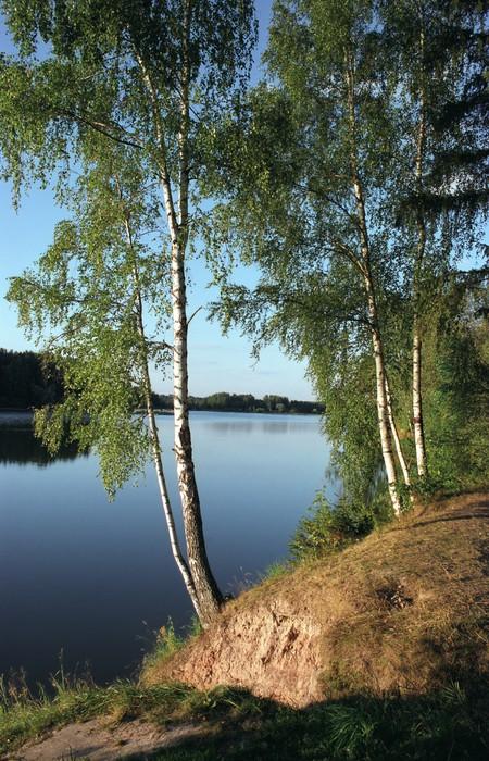Vinylová Tapeta Jezero istra - Outdoorové sporty