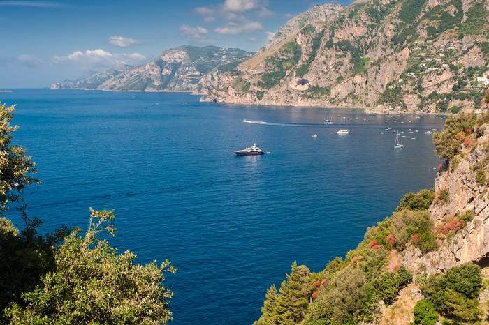 Vinylová Tapeta Amalfi Coast pohled - Evropa