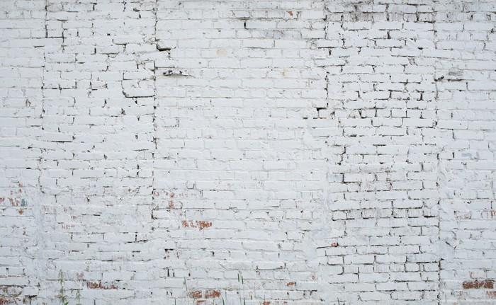 papier peint craquage de fond mur de briques blanc grunge texture color e vieux pixers nous. Black Bedroom Furniture Sets. Home Design Ideas