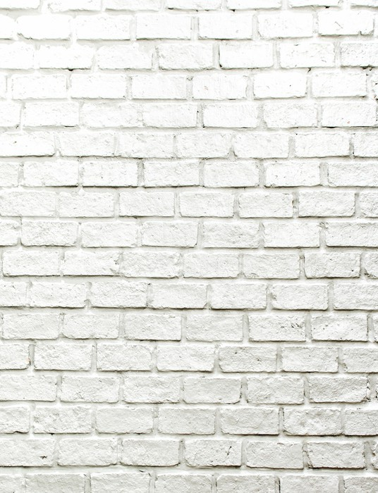 tableau sur toile mur de brique blanche brumeuse pour le fond ou la texture pixers nous. Black Bedroom Furniture Sets. Home Design Ideas
