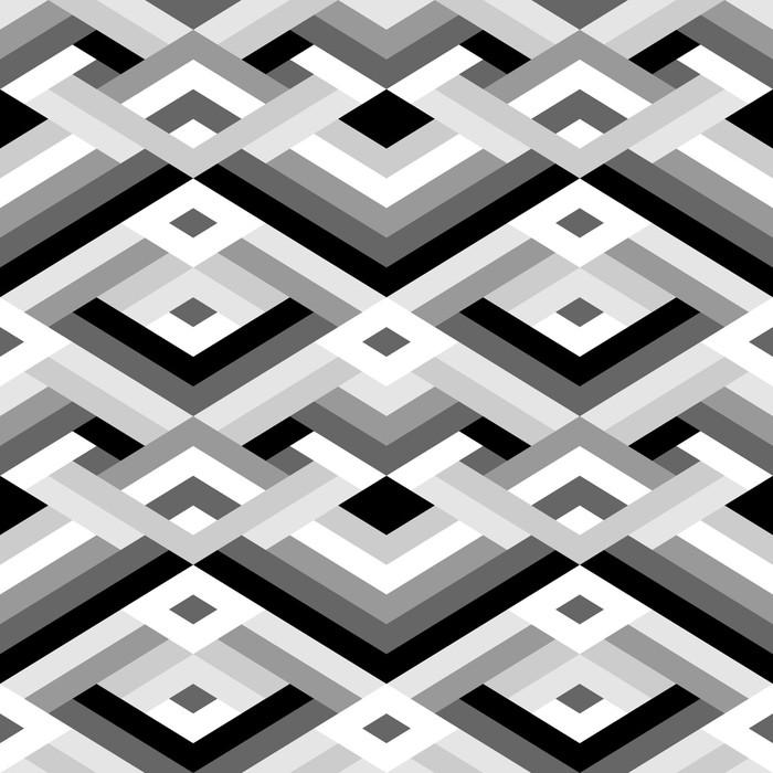 Vinylová Tapeta Geometrické bezešvé vzor - Pozadí
